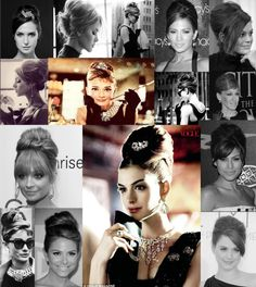 Breakfast at Tiffany Hairstyle Inspiration Board (mob)