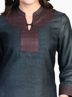 Top 35 Stylish And Trendy Kurti Neck Designs That Will Make You Look All The More Graceful Salwar Designs, Churidar Neck Designs, Kurta Neck Design, Kurta Designs Women, Neckline Designs, Dress Neck Designs, Blouse Designs, Salwar Pattern, Kurta Patterns