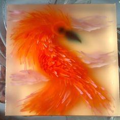 red phoenix art jelly