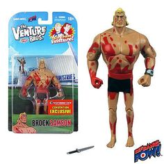 The Venture Bros. Naked Brock Samson 3 3/4-Inch Action Figure