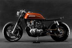 """The Brushed"" 1981 Honda CB750 cafe racer - Steel Bent Customs"