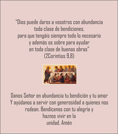 Blog Católico Parroquia Santa María de Baredo-Baiona: Una Estampa Oración Bendición de la mesa para cada día de Agosto