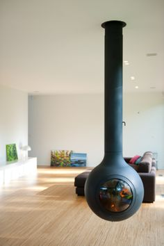 Round Belly Fireplace