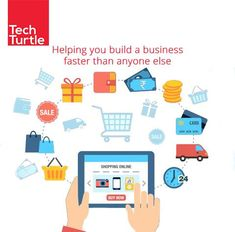 Sell products and earn big amount of profit from each sale, no requirement of technical skills. #CreateOnlineStore #TechTurtle #OnlineStore