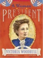 """""""Victoria Woodhull was the first woman to do many things: the first woman to own a newspaper, to speak before Congress, and to have a seat on the stock exchange. But her boldest act was announcing herself as the first female candidate for the presidency of the United States in 1872--before women even had the right to vote."""" - From Amazon.com"""
