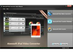40.00% OFF Сoupon Сode  for Aiseesoft iPad Converter Suite Ultimate - save 26.00$