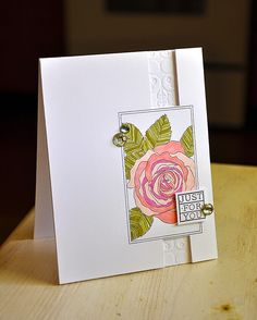 Cutout Panels - Simply Stamped - This is quite different and very elegant!