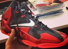 Nike LeBron James 11 Black/Red