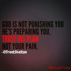 God♡ trust His plan.  Narcissistic Abuse Recovery