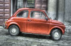La Cincociento Rossa   #TuscanyAgriturismoGiratola
