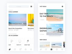 App designed by Nafio. Connect with them on Dribbble; the global community for designers and creative professionals. Web Design Mobile, Web Ui Design, Flat Design, Interface Web, User Interface Design, Template Web, Page Web, Mobile App Ui, Mobile Web