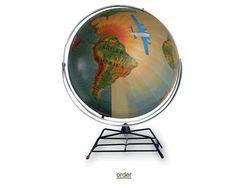 Altered Globe,#altered,#globe,#diy