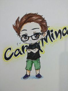 Carryminati chibi sketch