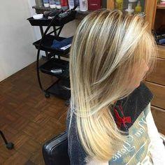 balayage loiros bonito Ombré Hair, Long Hair Styles, Beauty, Balayage Hair, My Hair, Long Hair Updos, Short Hair, Hot Blonde Girls, Pictures