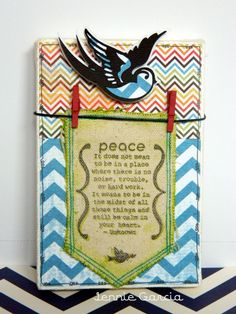 Super easy decoration using Tombow and Canvas Corp!!