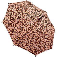 leopard umbrella...i had one but it broke :(