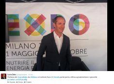 Partenza del Giro d'Italia da Belluno col simbolo Expo. #Zaia: Il #Veneto parteciperà a difesa agroalimentare e genuinità
