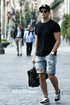How To Wear Basics On The Street #mens #fashion