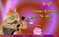 Free Ecard With Sound For Birthdays From 123greetings Singing Birthday Cards