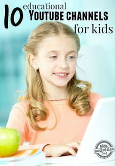 10 Educational Youtube Channels For Kids