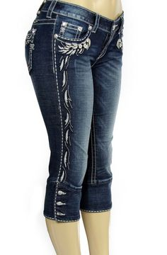 plus sized miss me jeans Jean Outfits, Cool Outfits, Fashion Outfits, Womens Fashion, Cowgirl Outfits, Buckle Outfits, Mode Jeans, Embellished Jeans, Country Outfits