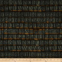Tim Holtz Eclectic Elements Stamps Neutral from @fabricdotcom  Designed by Tim Holtz, this cotton print fabric is perfect for quilting, apparel, crafts, and home decor items. Colors include grey, orange and taupe.
