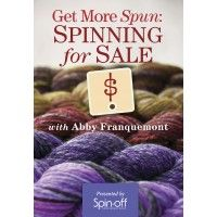 Get More Spun: Spinning for Sale with Abby Franquemont Video Download | InterweaveStore.com