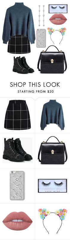 """Untitled #291"" by catarina-de-sousa-lopes on Polyvore featuring Giuseppe Zanotti, MICHAEL Michael Kors, Huda Beauty and Lime Crime"