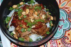 Slow Cooker Thai-Style Pork | Katie's Cucina