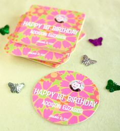 Special Occasion Coaster Ideas from the Evermine blog #birthday #beer #gift #favor #party #personalized #coaster