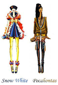 Disney Inspired High Fashion Designs http://geekxgirls.com/article.php?ID=1981