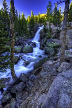 Alberta Falls, Rocky Mountain National Park, Colorado