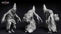 ArtStation - The Witcher III - Weavess, Marcin Blaszczak Witcher Art, Witcher 3 Wild Hunt, The Witcher 3, 3d Character, Character Design, Video Game Artist, Vampire Fangs, Monster Design, Cg Art