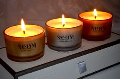 NEOM Scents of Christmas Travel Candle Collection | Christmas Gift Guide £21