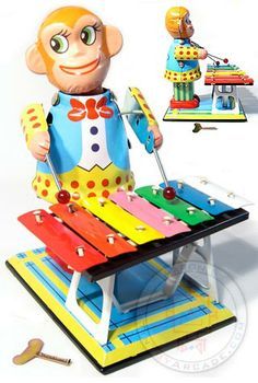 He may be creepy, but the guy can play a xylophone like nobody's business!