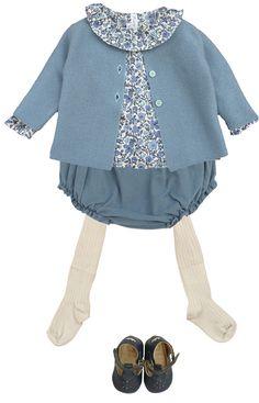 Marie Puce Paris - vêtements de créateur pour enfant - Look bébé n°1