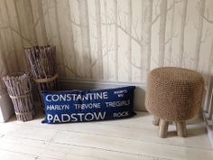 Bits and bobs we have at home from Teri Walter shop in Padstow - might be worth a look for coastal additions to theme?