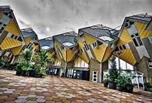 Cube Houses, Rotterdam by Andrea de Poda