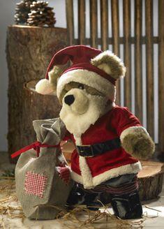 Build-A-Bear santa suit pattern (in Danish) C Bear, Love Bear, Build A Bear Clothes Pattern, Doll Sewing Patterns, Clothes Patterns, Teddy Bear Images, Build A Bear Outfits, Teddy Bear Clothes, Suit Pattern