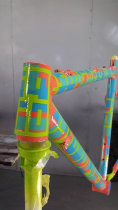 More Rattlecan squidlyness in process! Meet S00026, the second in our Rattlecan Original Series. This frame was painted by two of our own and is now in the process of getting a pro clear at Cal West Autobody. What do you want your bike to look like...