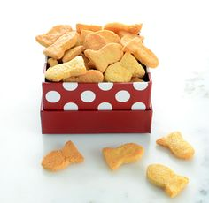 Homemade Grain-Free Goldfish Crackers