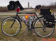 All Decked Out Trek 830 Touring Pinterest Trek