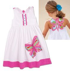 From CWDkids: Butterfly Back Dress