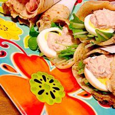 久しぶりに食べたくなって違う具材で作ってみました♡ 何でも巻き巻きして合うからいい|。´艸)тндйк уoц☆ - 22件のもぐもぐ - くららさんの料理 お手軽簡単っ!ブリトー☆ by sakutae