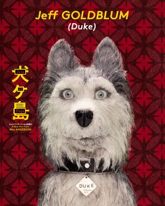 High resolution official theatrical movie poster ( of for Isle of Dogs Image dimensions: 1728 x Directed by Wes Anderson. Isle Of Dogs Movie, Dog Trailer, Wes Anderson Movies, Dog Poster, Dog Boarding, Weird And Wonderful, Stop Motion, Dog Photos, Best Dogs
