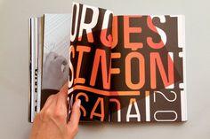 Casa da Música Programme Book by Sara Westermann, via Behance