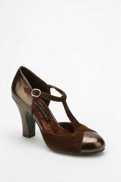 Bait Velma T-Strap Heel  urbanoutfitters 1930s Shoes 35ee1b6fe96b