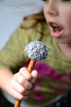 Microphone Cake Pops by www.crazyforcrust.com | A microphone you can eat!