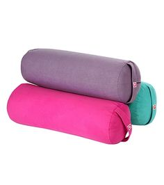 he Round airCORE Bolster features a lighter weight form, firm cushion, and a machine washable microfiber cover that is velvety soft to the touch.