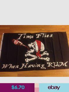 "Pirate Jolly Roger Nylon Boat Flag TaylorMade 12 x 8/"" Boat Novelty Flag Skull"
